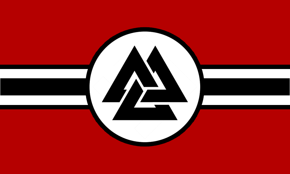Flag Of The German Fifth Reich By Rvbomally Flag Ancient Symbols Occult Symbols