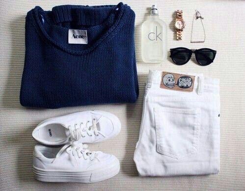 Imagem através do We Heart It #cheapmonday #CK #fashion #outfit