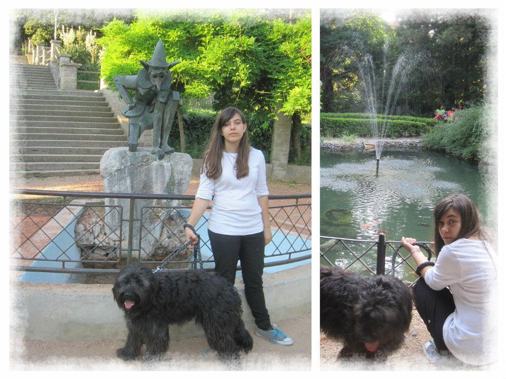 Popaj al parco di  villa Revoltella