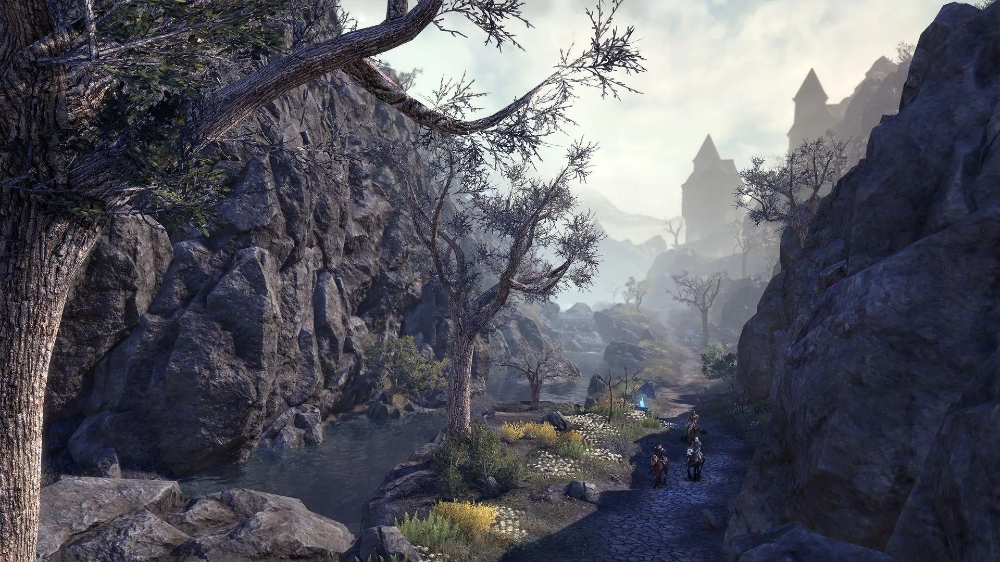 Markarth Preview The Zone S Setting The Elder Scrolls Online Elder Scrolls Online Scenery Elder Scrolls