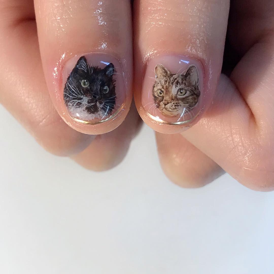 Artista japonesa crea detalladas obras de arte en las uñas de sus clientas