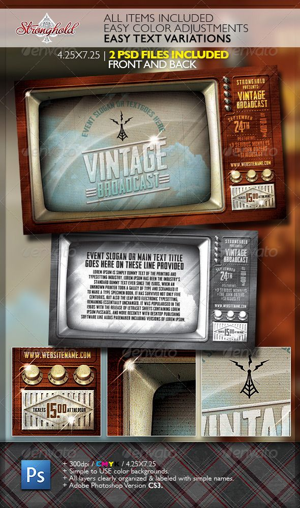 Vintage Military Armed Forces Flyer Template | Armed Forces, Flyer