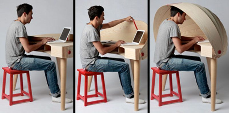 creative office desks. Creative Privacy Desk As Office And Work Furniture Desks