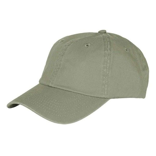 Women s Topshop Washed Baseball Cap ( 15) ❤ liked on Polyvore featuring  accessories 14b3d90472cd
