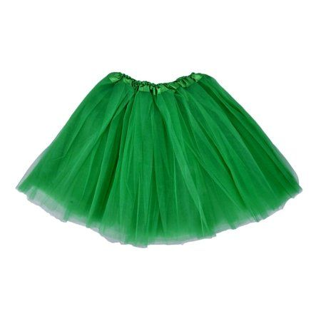 Green Tutu Adult Womens Dancewear Accessories One Size