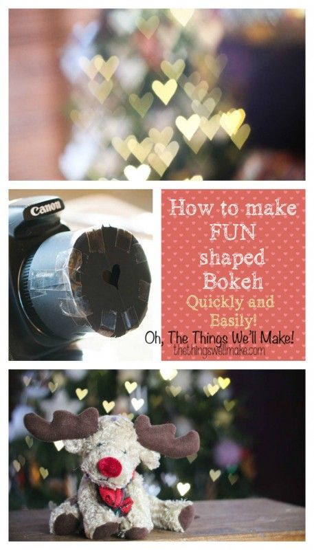 This is a fun photography project. Learn how you can easily alter the shape of your bokeh, creating beautiful, artistic photos and background effects. This is really simple to do! Find out what bokeh is, and how you can shape it however you like to make beautiful effects like these.