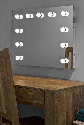 Hollywood Mirror Illuminated Mirrors Light Up Wall Mirror Hollywood Mirror Diy Bedroom Mirror