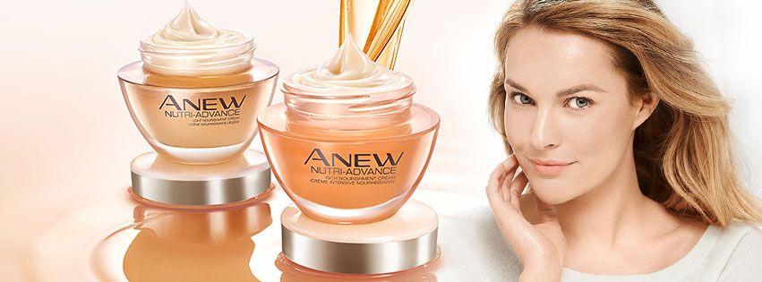 Uudet Avon Anew Nutri-Advance -voiteet sisältävät omega 3-, 6- ja 9 -rasvahappoja, jotka suojaavat, kosteuttavat ja ravitsevat ihoa talven tullen. Valitse kahdesta voiteesta mieleisesi: light tai rich nourishment ihosi tarpeen mukaan!   New Anew Nutri-Advance creams #ANEWyou