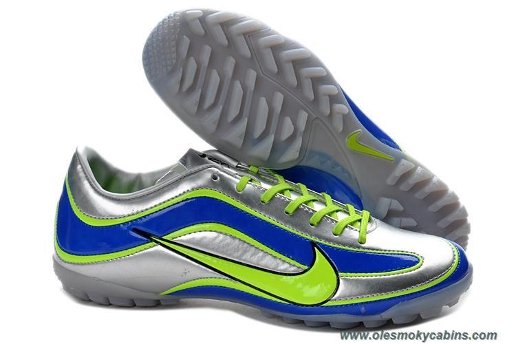 ff38509622 Silver Blue Yellow Nike Mercurial Vapor XV TF Sale. ChuteirasFutebol Nike Chuteiras De Futebol BaratasNike FutebolChuteiras AdidasAmarelo ...