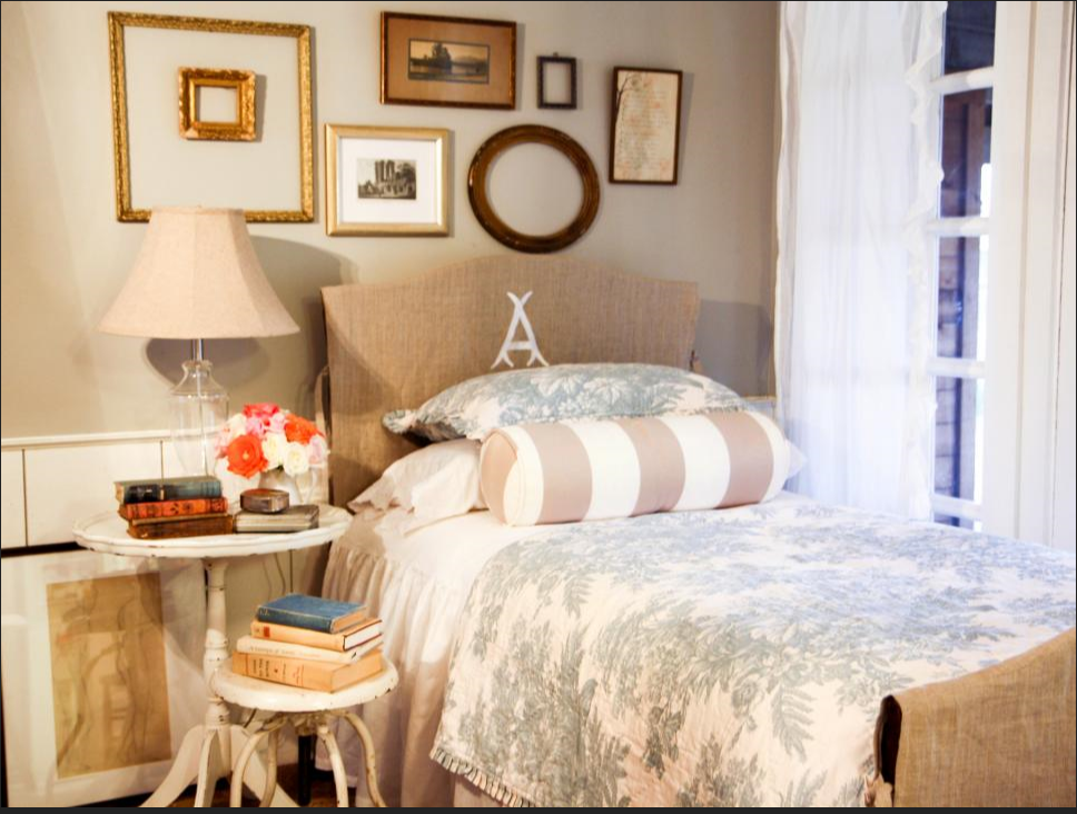 Cozy Cottage _ With its mix of subtle patterns and soft ...