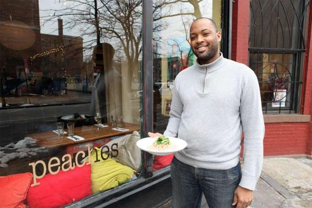 PEACHES IN BEDFORD STUYVESANT 393 Lewis Ave, Brooklyn, NY 11233 bcrestaurantgroup.com/peaches