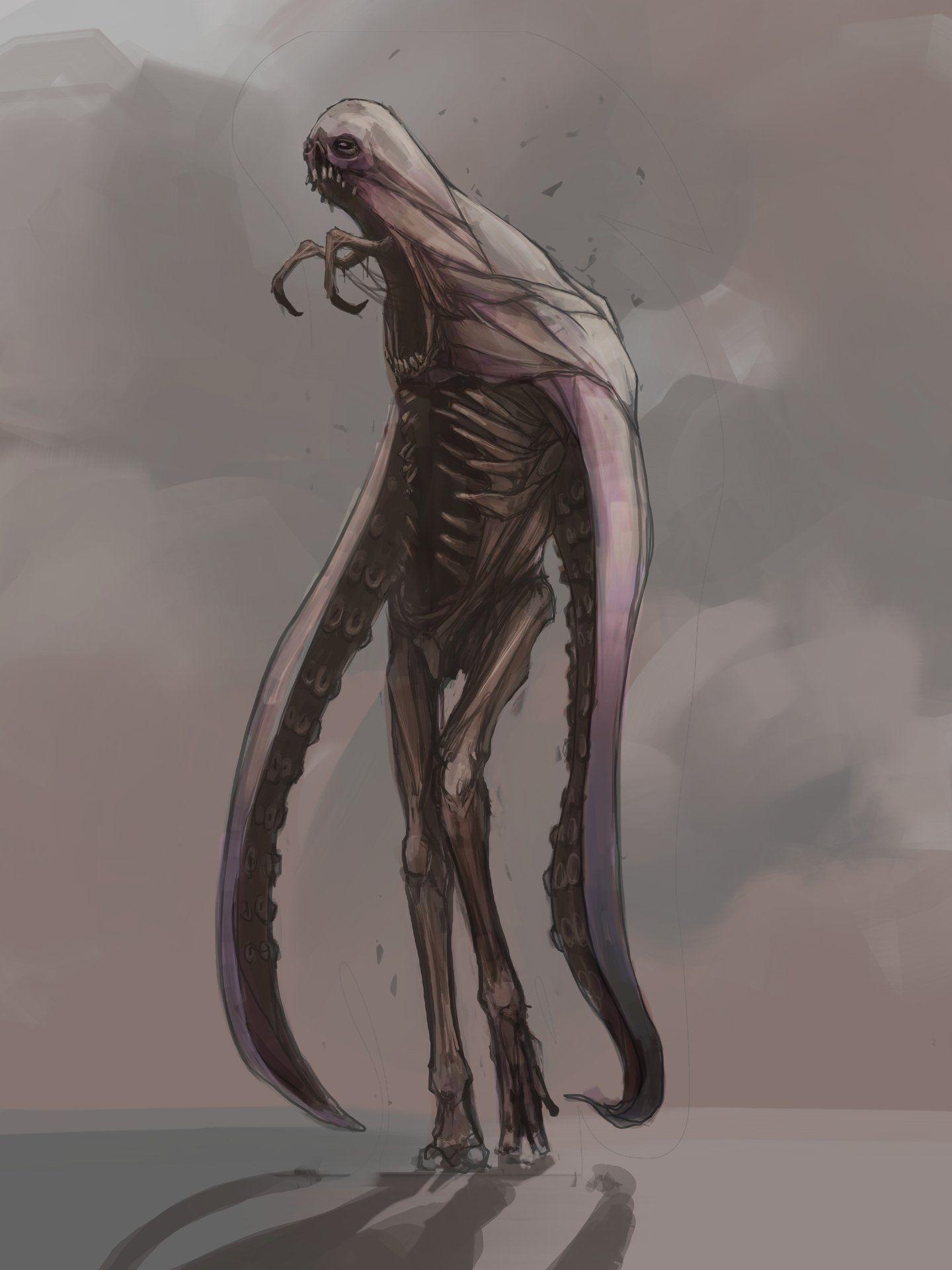 """abominations"" by Shane Walters https://www.artstation.com/artwork/abominations-44535ba1-bde7-40d1-87ce-2dcdd0ca07d4?utm_content=bufferae02b&utm_medium=social&utm_source=pinterest.com&utm_campaign=buffer #creaturedesign #creatureart #2dart #conceptart"