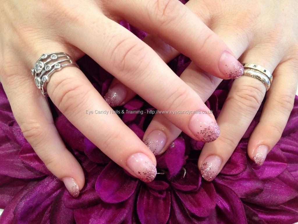 Pink Glitter Fade Nail Art Nail Designs Pinterest Glitter Fade