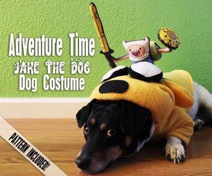 ADVENTURE TIME JAKE THE DOG - DOG COSTUME & ADVENTURE TIME JAKE THE DOG - DOG COSTUME | Costumes | Pinterest | Dog
