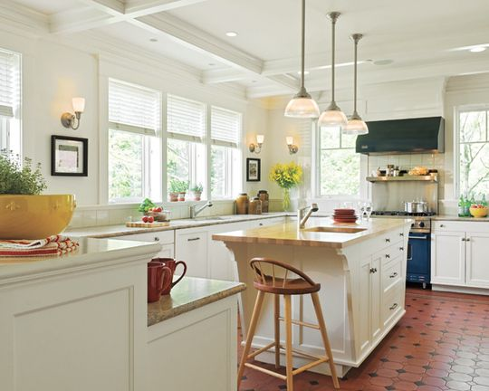 Kitchen Ideas No Upper Cabinets open and light: a kitchen that flows into the home | kitchen