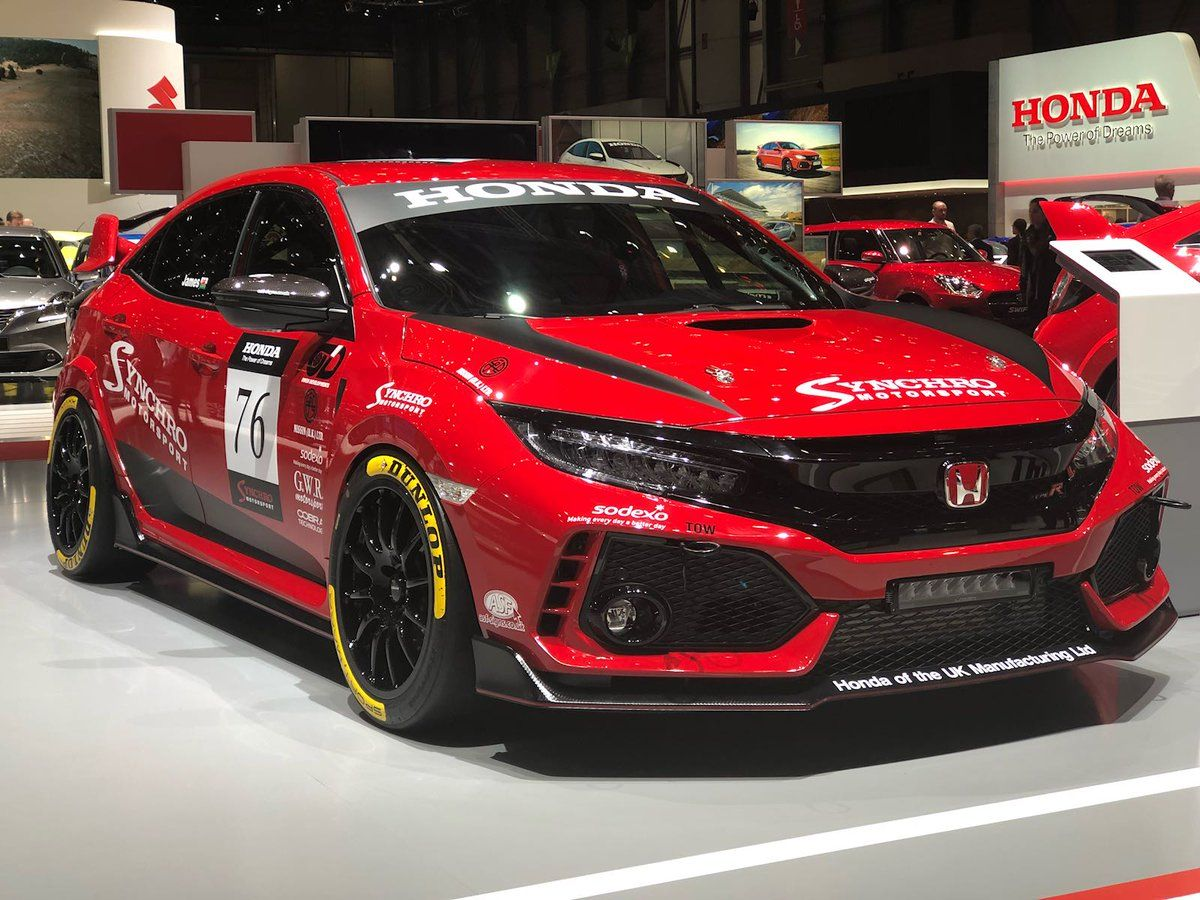 the new synchro motorsport honda civic type r coches. Black Bedroom Furniture Sets. Home Design Ideas