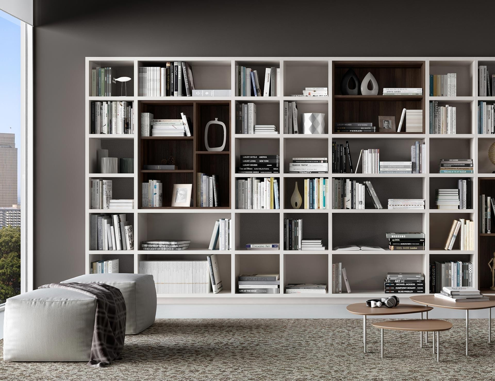 Home Library Bookcases & Shelves Solutions  California Closets