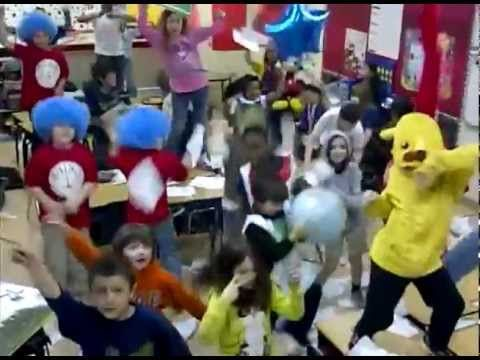 Ms. Kelley and Ms. Turner's 3rd Graders from Vista Academy in Coppell, Texas celebrate Dr. Suess' Birthday with the Harlem Shake featuring Cat in the Hat, Thing 1, Thing 2, Grinch, and special appearance by....Pikachu!   Media Credits: Krista Kelley PR and Pitch Cloud.