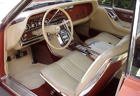 1965 Thunderbird Special Landau Interior View From Driver S Door