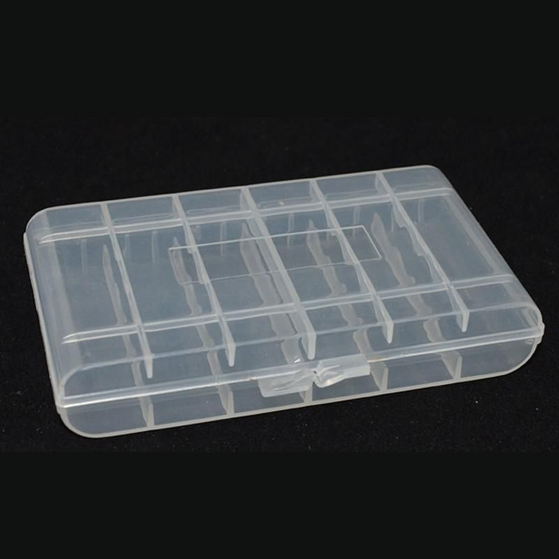 Plastic Box Aa Aaa Battery Storage Case Organizer Container Box Case Battery Storage Container Organization Aaa Batteries