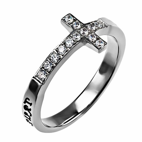 Cross Purity Rings For Girls