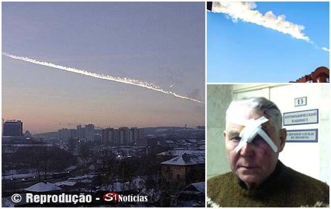 Meteoro cai na Rússia, se desintegra e deixa 500 pessoas feridas   S1 Noticias
