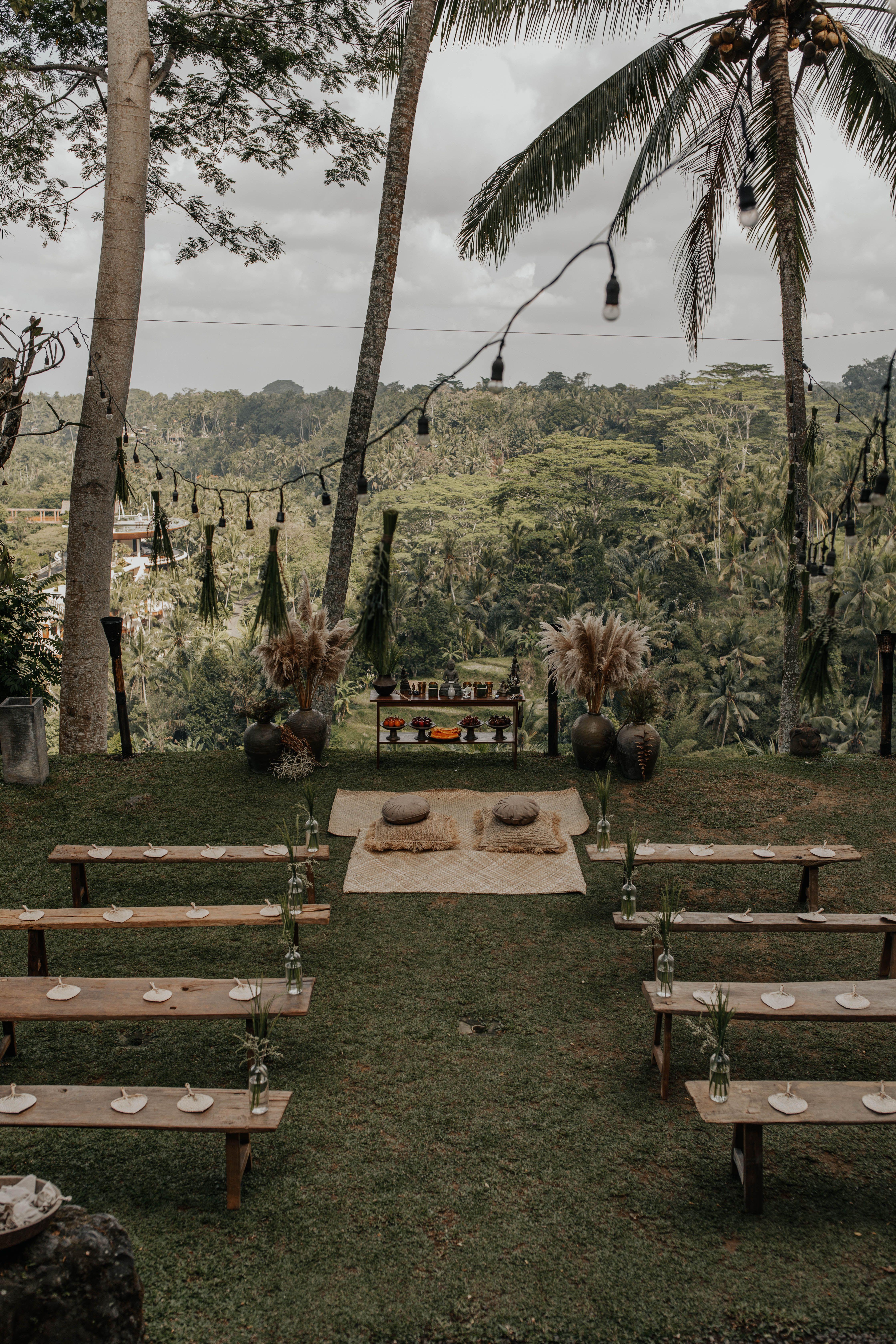 Destination wedding Bali // Tropical wedding // Ubud