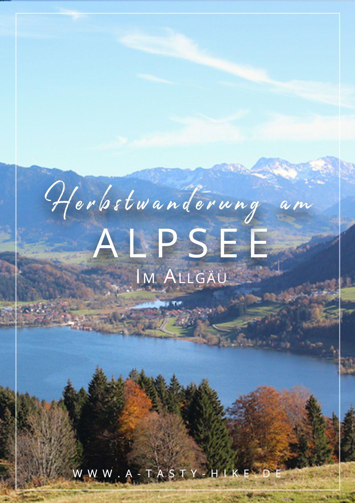 Eine Wanderung Rund Um Den Allgäuer Alpsee oder Wie Ich Fast Vom Schlamm Verschluckt Wurde #naturallandmarks