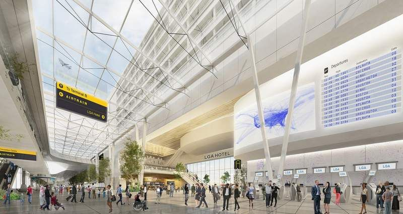 Redevelopment of New York's LaGuardia Airport  , - ,   A $4 billion pla...