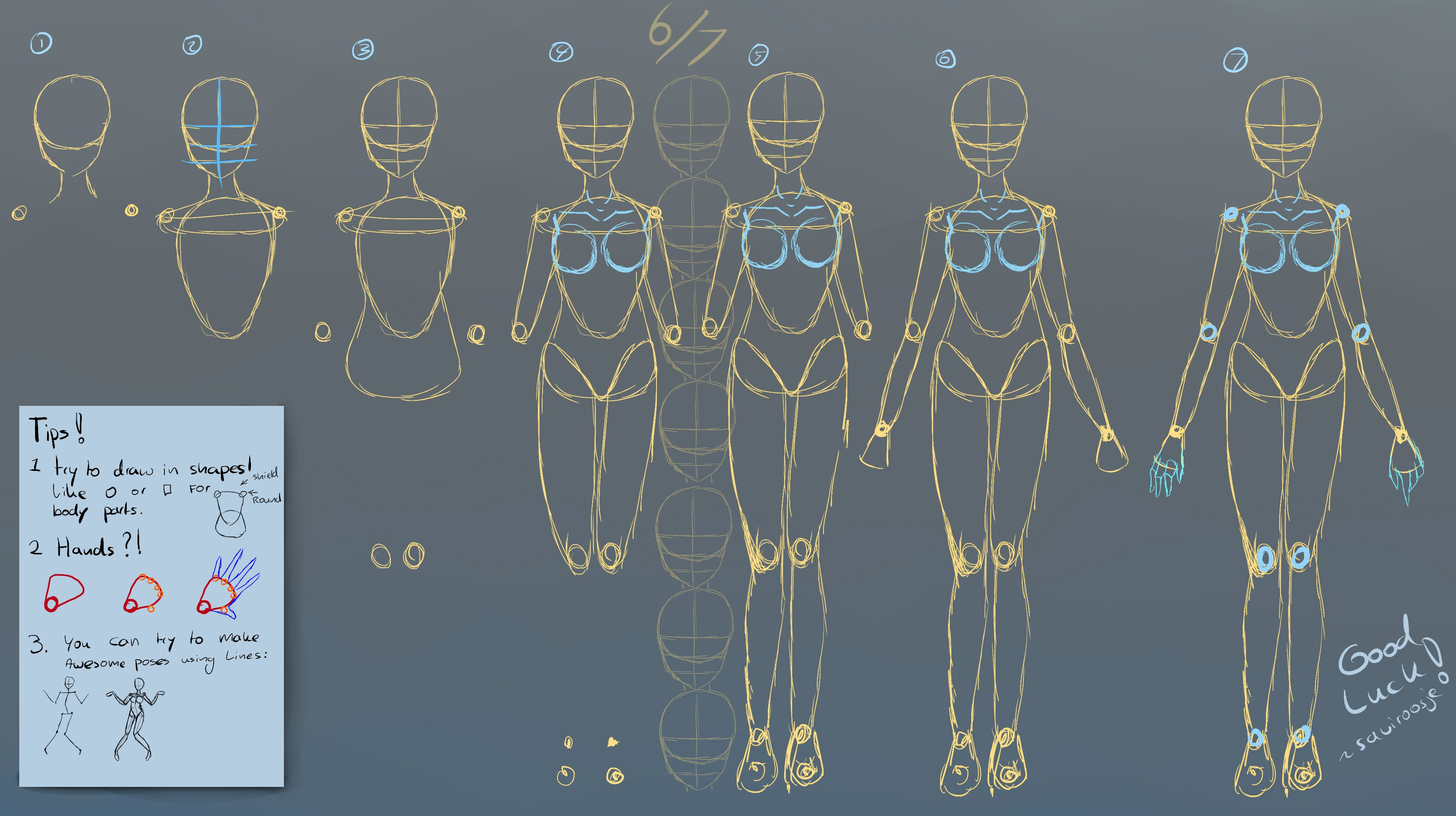 Female And Male Manga Proportion Guide By Yubi Yubi On Deviantart Body Drawing Crying Girl Drawing Girl Body