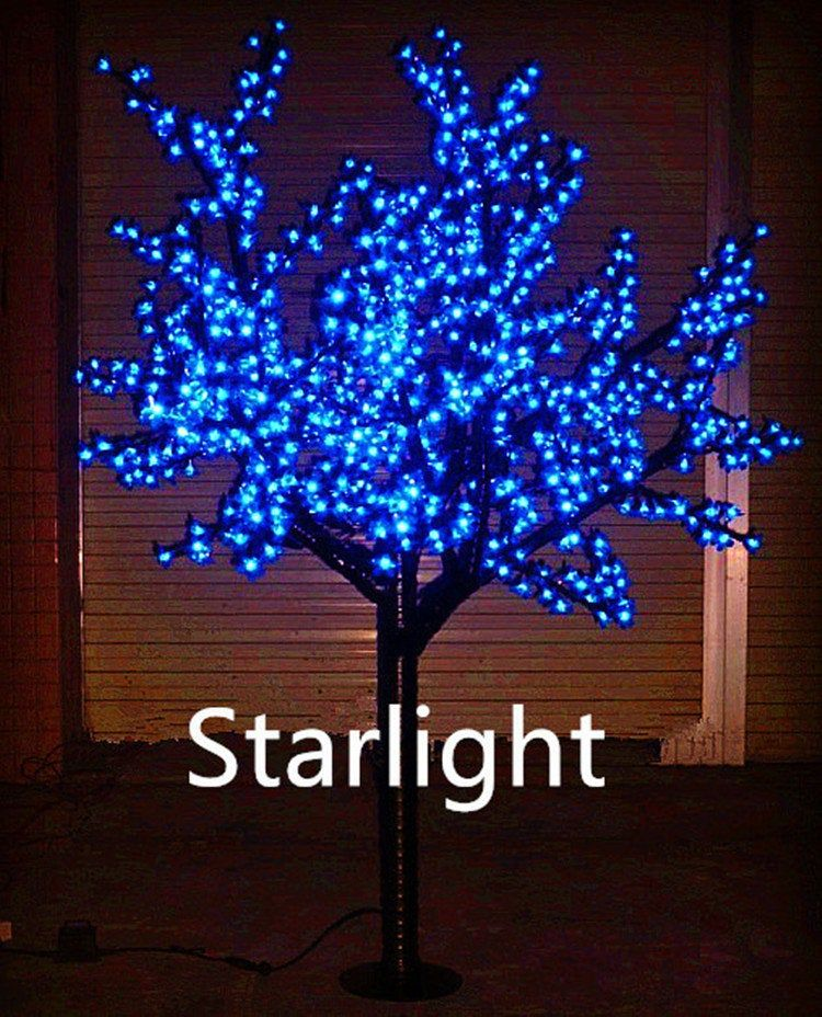 Bolylight Led Cherry Blossom Tree 6ft 208l Great Decoration For Home Party Christma Outdoor Christmas Decorations Decorative Night Lights Christmas Decorations