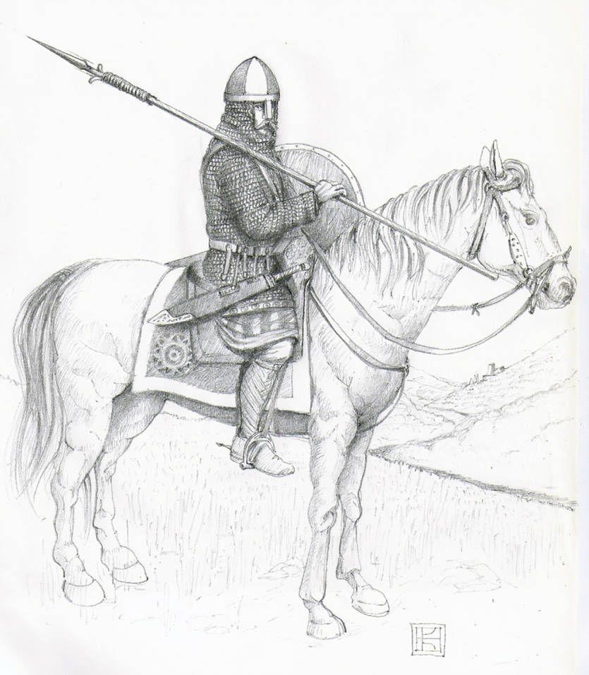 'Miles', Lotharingia 842 AD. By Paullian On DeviantArt
