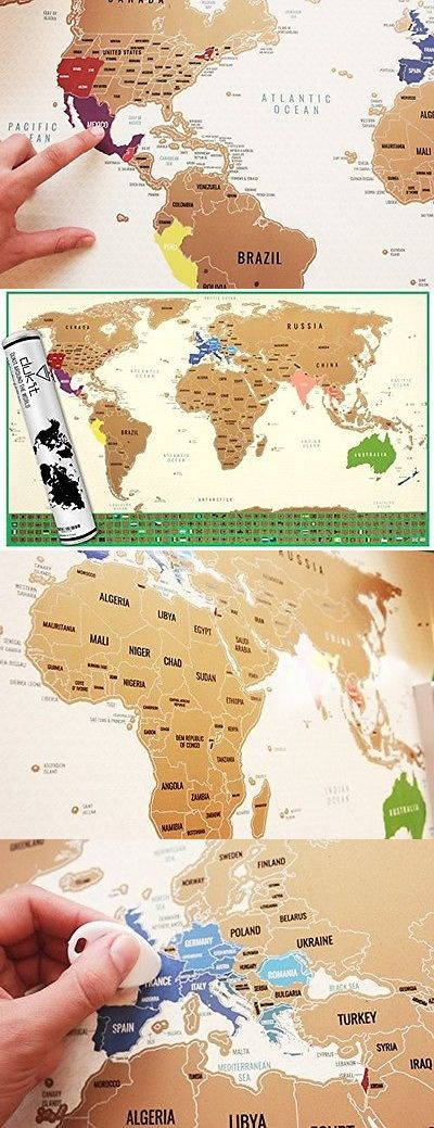Other travel maps 164807 huge travel edition scratch world map other travel maps 164807 huge travel edition scratch world map poster personalized journal log big gumiabroncs Gallery