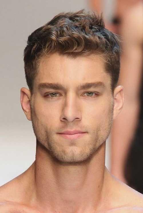 Peinados para cabello ondulado hombres 2017