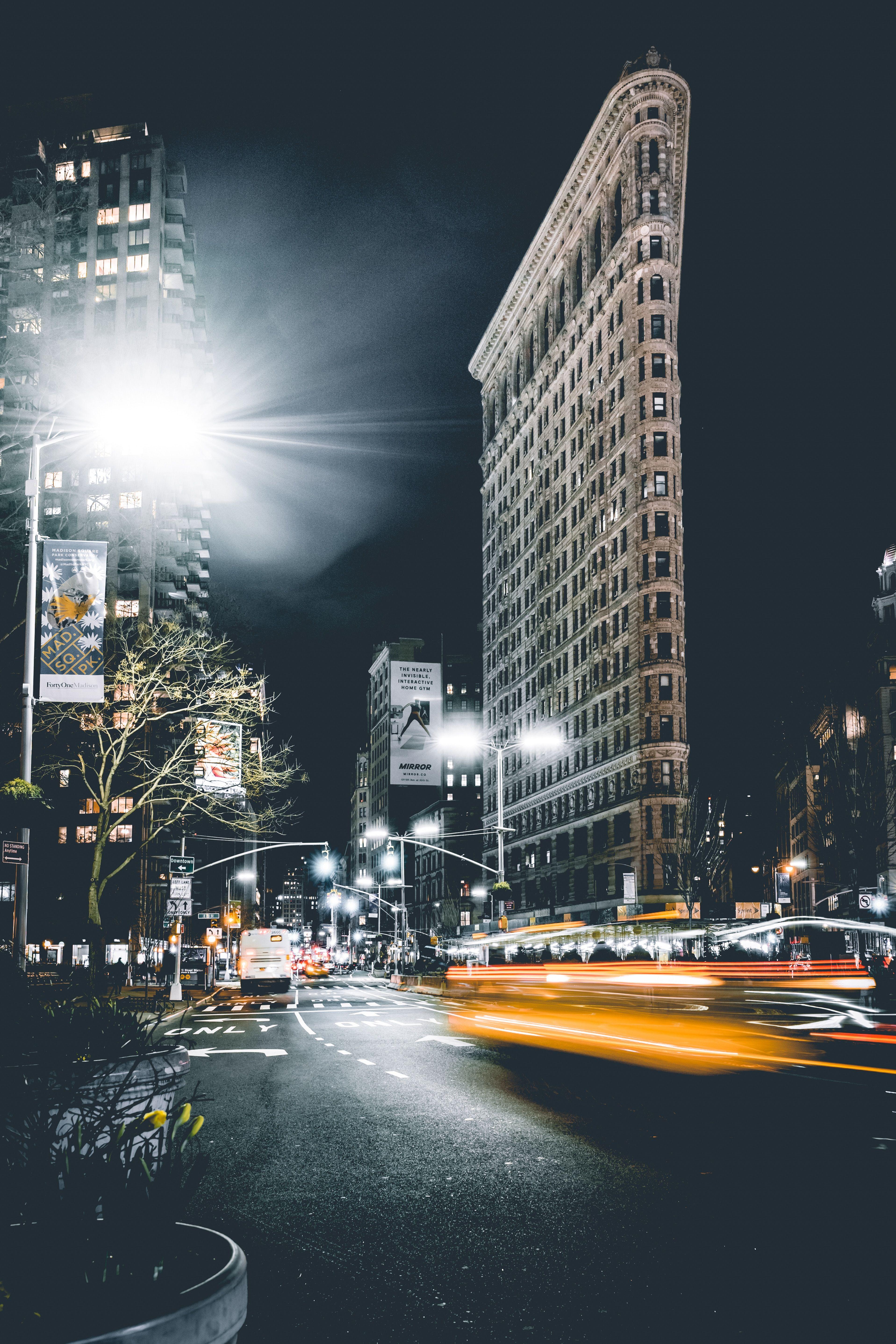 Обои уличные, buildings, lights, street, зданий. Города foto 14