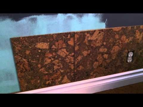 Cork Wall Tile Installation How To Cork Wall Tiles Cork Wall Tile Installation