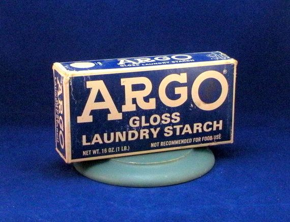 Argo Gloss Laundry Starch Vintage Reproduction By Closetqueens