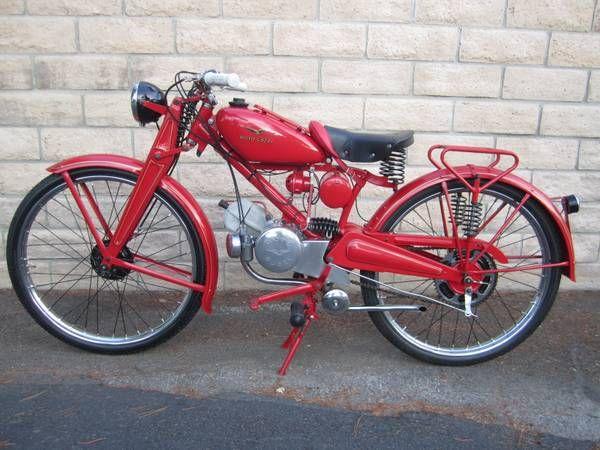 Moto Guzzi Motoleggera - Left Side