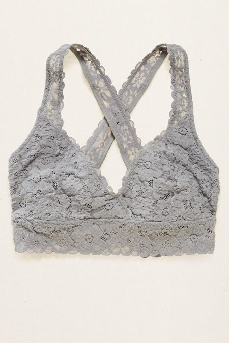 8fd1acc3fd Aerie Lace Cross-Back Bralette