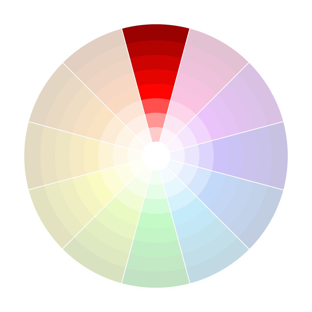 Monocromatic Colors monochromatic harmony | color theory | pinterest