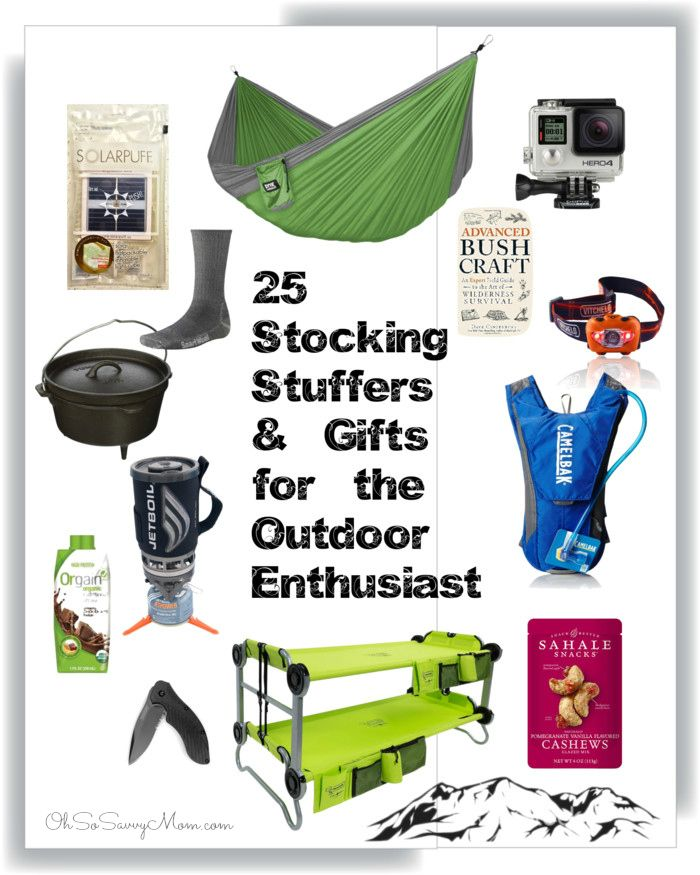 25 Stocking Stuffers and Gift Ideas for Outdoor Enthusiast Christmas Gifts  For Kids, Christmas Activities - 25 Stocking Stuffers And Gift Ideas For Outdoor Enthusiast