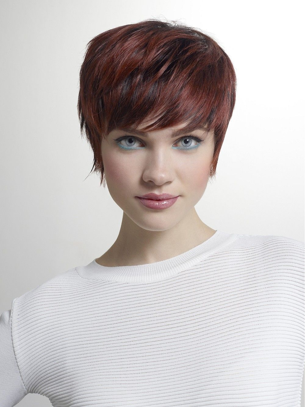 Large Image Of Short Brown Straight Hairstyles Provided By Tchip Coiffure Picture Number 23160 Brown Straight Hair Short Hair Styles Medium Hair Styles