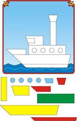J. Ossorio Papercraft: Papercraft recortable educativo para colocar las f