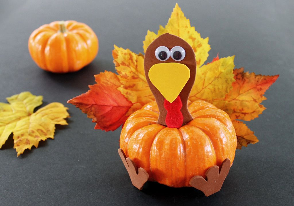 Easy Thanksgiving Craft Ideas For Kids Part - 49: 29 Fun And Easy Thanksgiving Craft Ideas