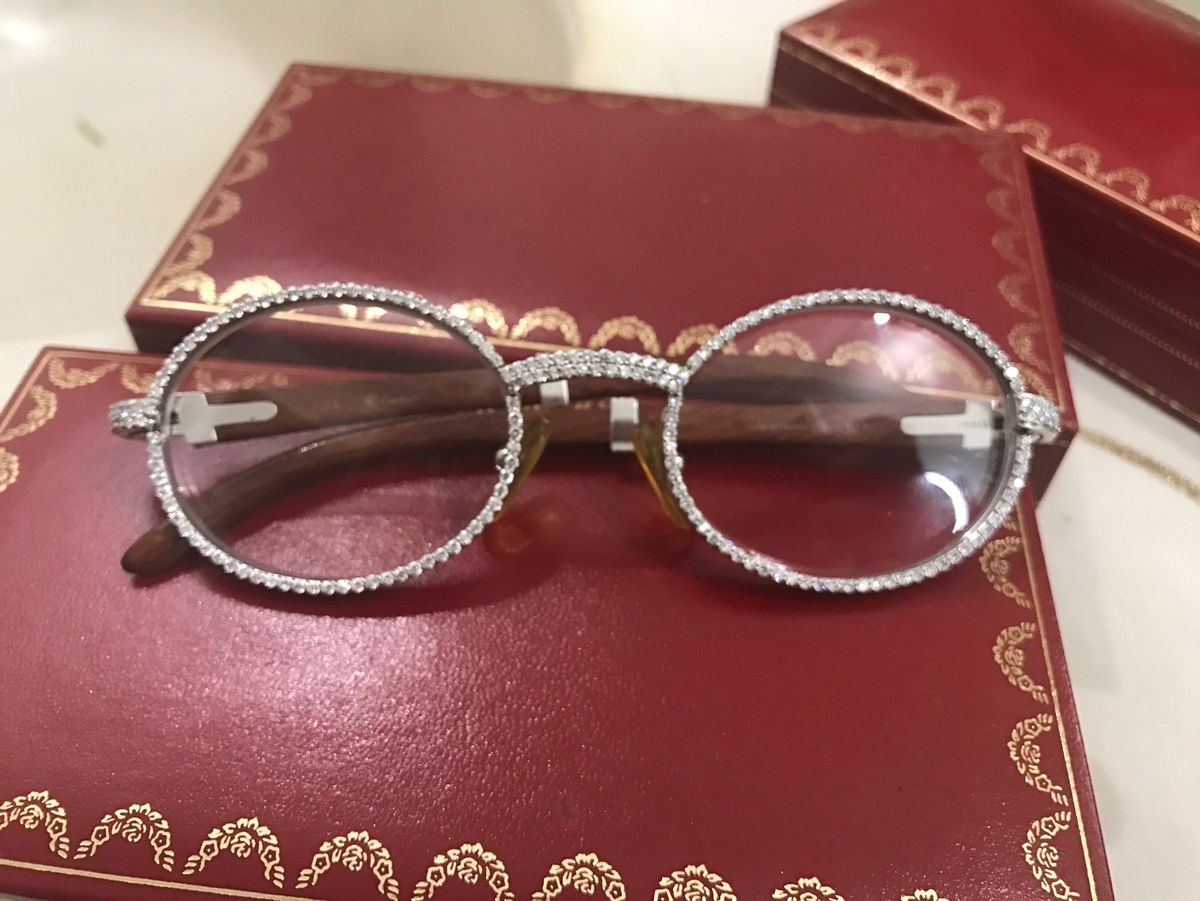 376790344a Buy Cartier Diamond Cartier Glasses 8ct.
