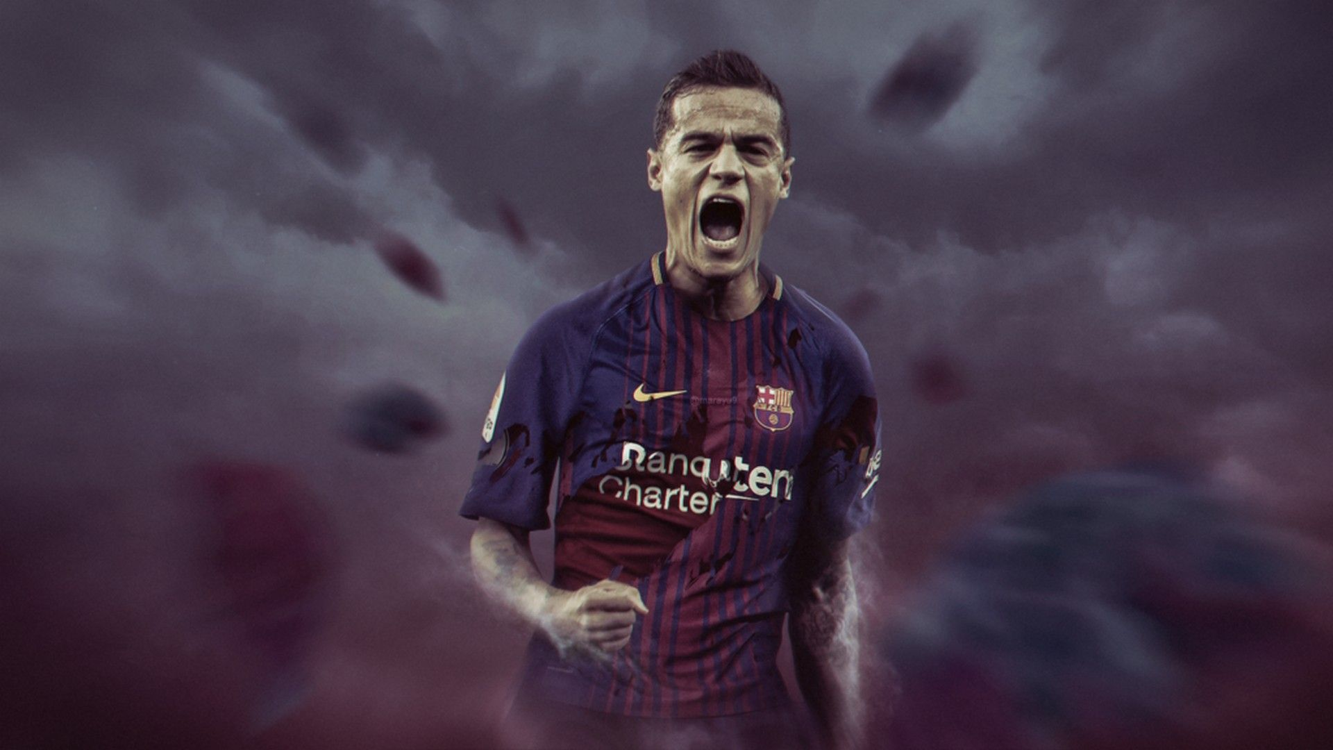 Philippe Coutinho Barcelona Wallpaper HD