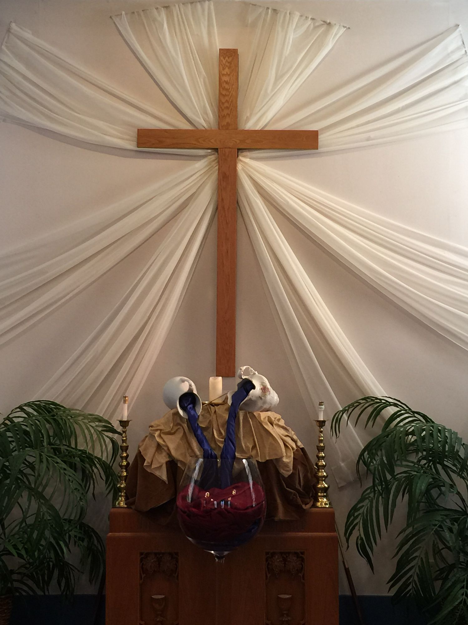 Miracles Happen Altarscapes Church Stage Church Altar Decorations Church Banners