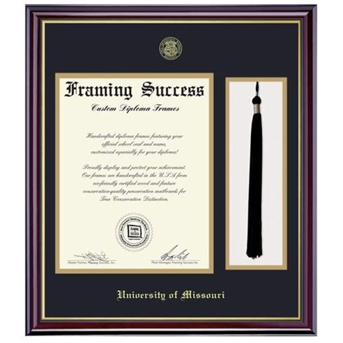 to frame a single diploma and insert your tassel overviewdocument size 8 - Diploma Frame Size