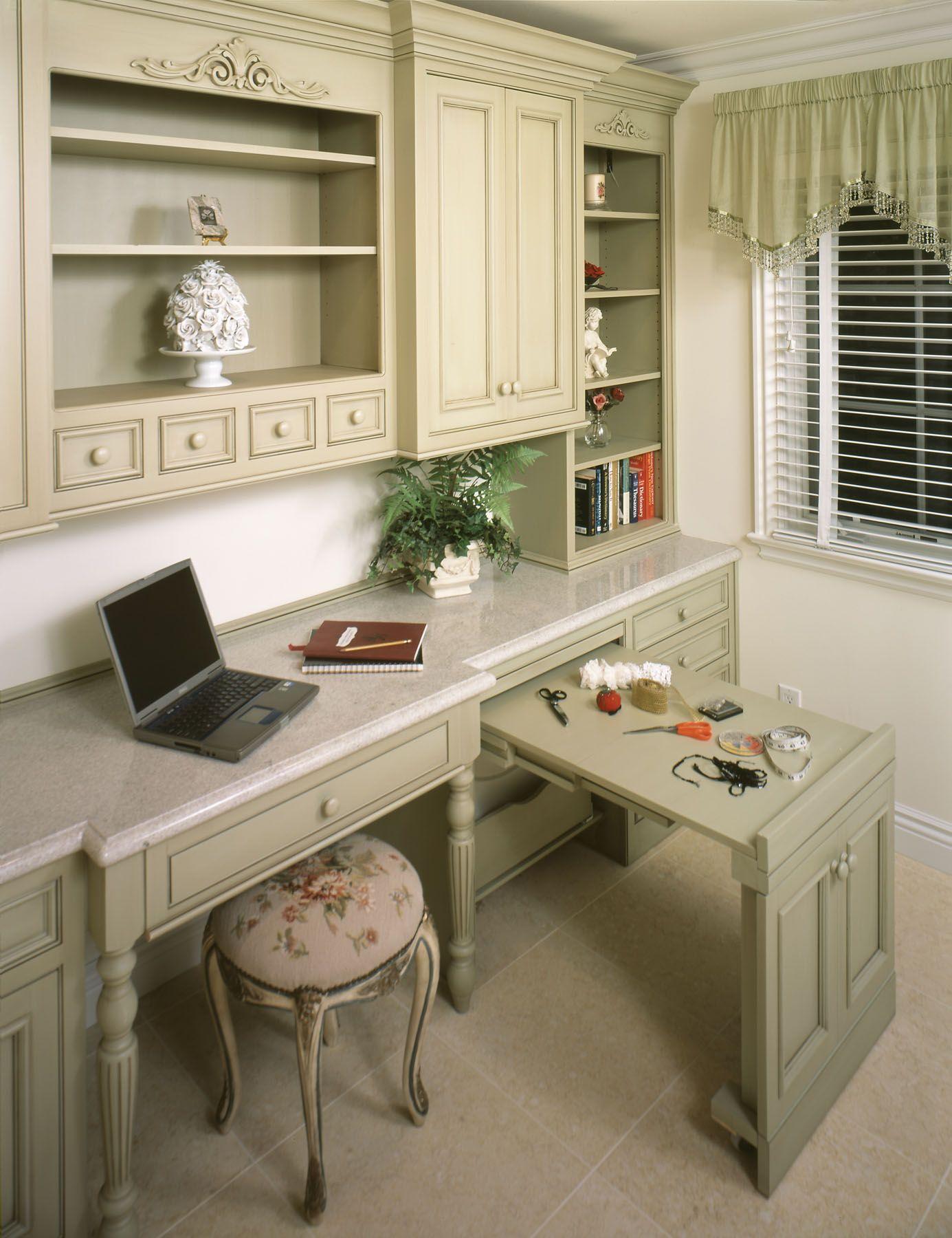 10x10 Room Layout Craft: Custom Wood Products #builtin #craftroom #cabinets