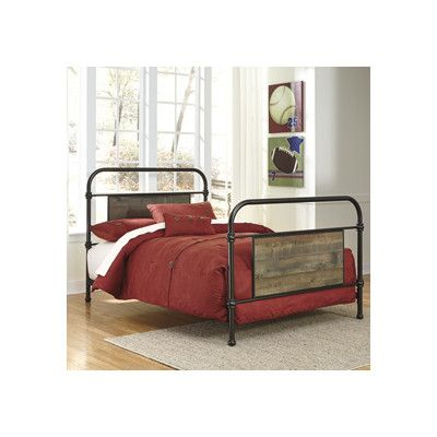 Signature Design By Ashley Panel Bed Brown Panel Bed Bedroom Sets Headboard And Footboard